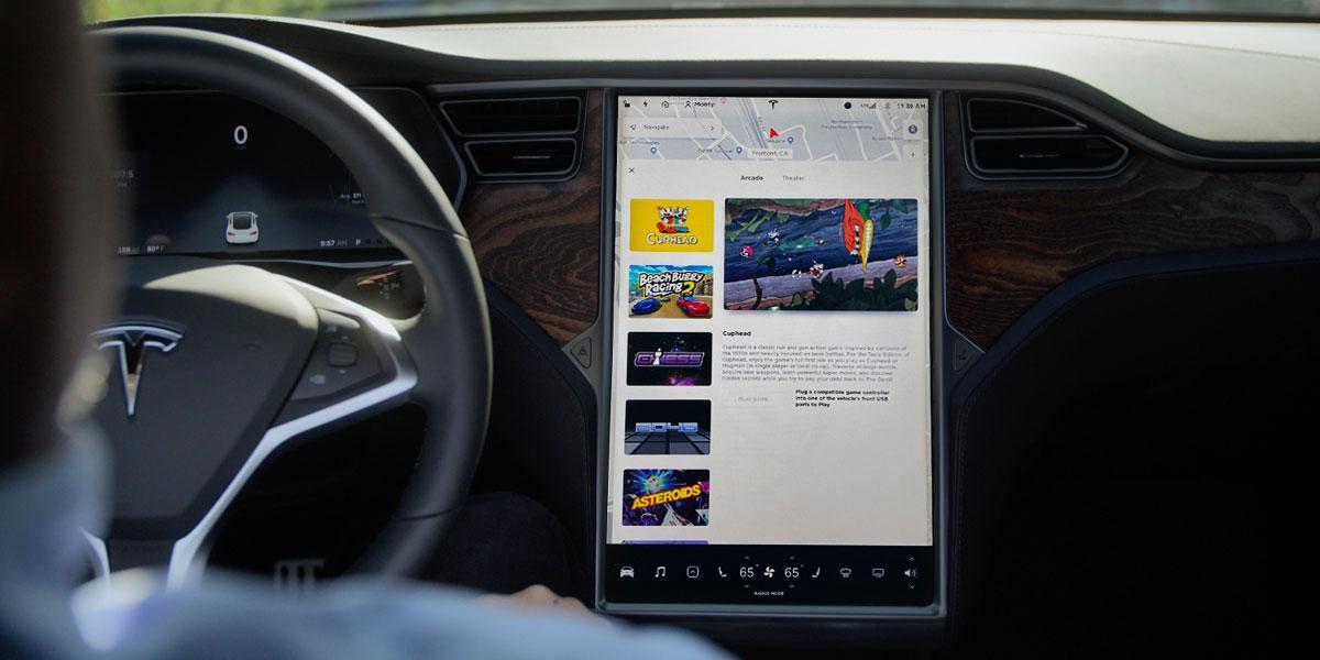 Tesla-Touchscreen