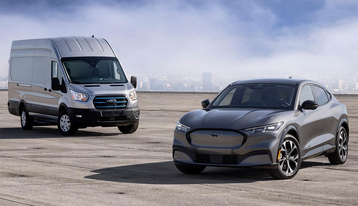 Ford-E-Transit_Mustang-Mach-E