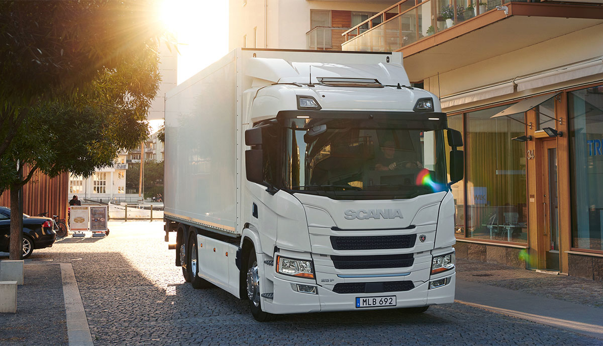 Scania-E-Lkw