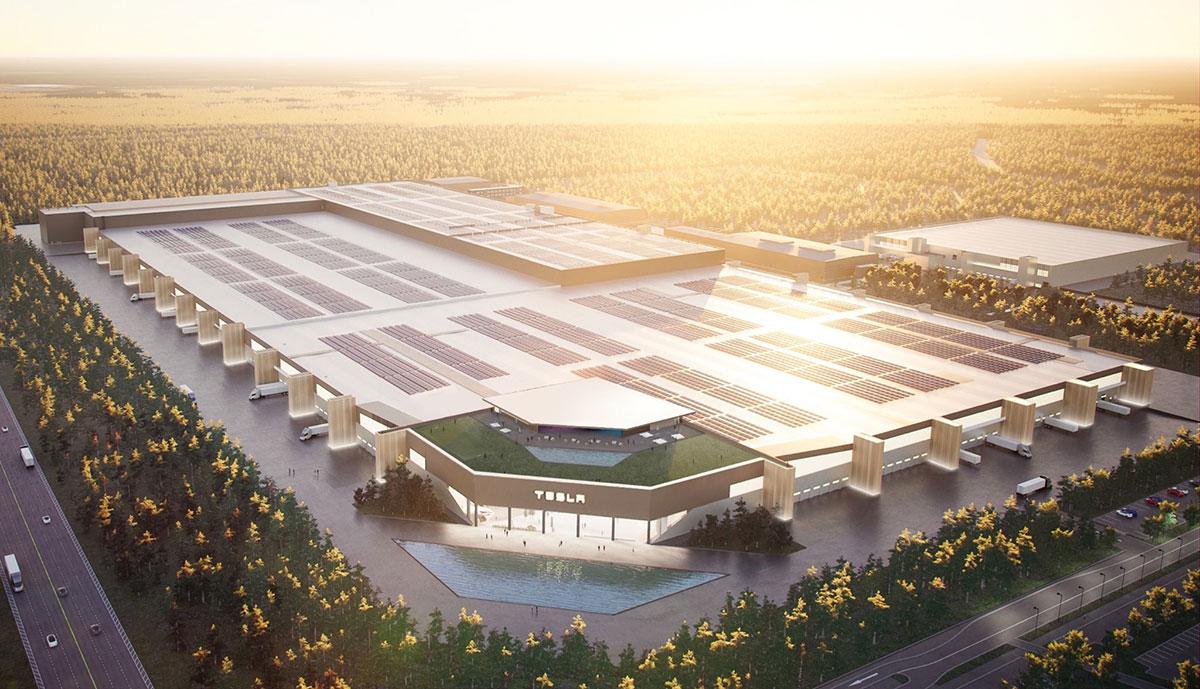 """Berliner Tesla-Fabrik soll eine """"massive Verspätung"""" drohen - ecomento.de"""