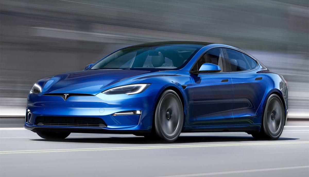 Tesla-Model-S-2021-blau