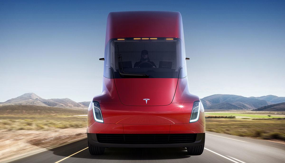 Tesla-Semi-rot