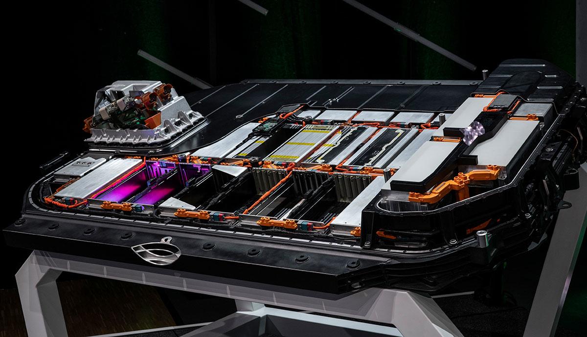 Audi-Batteriesystem