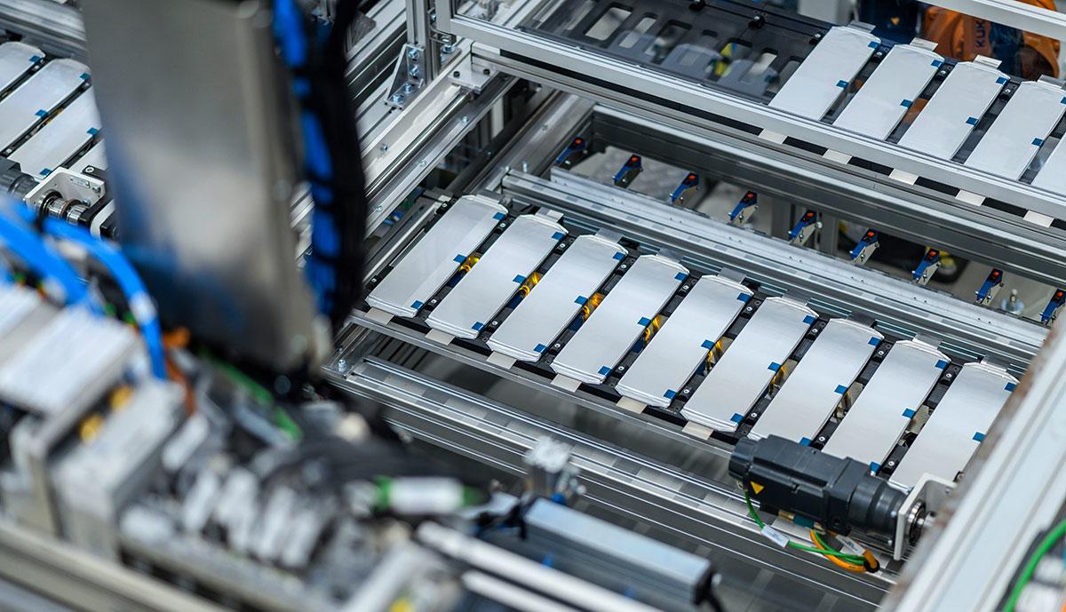 Daimler-Batterieproduktion