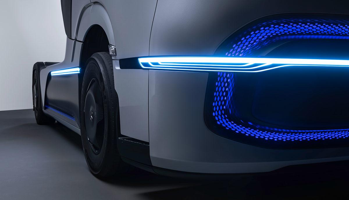 Mercedes-Wasserstoff-Lkw-Front