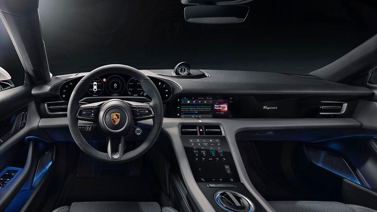 Porsche-Taycan-Interieur