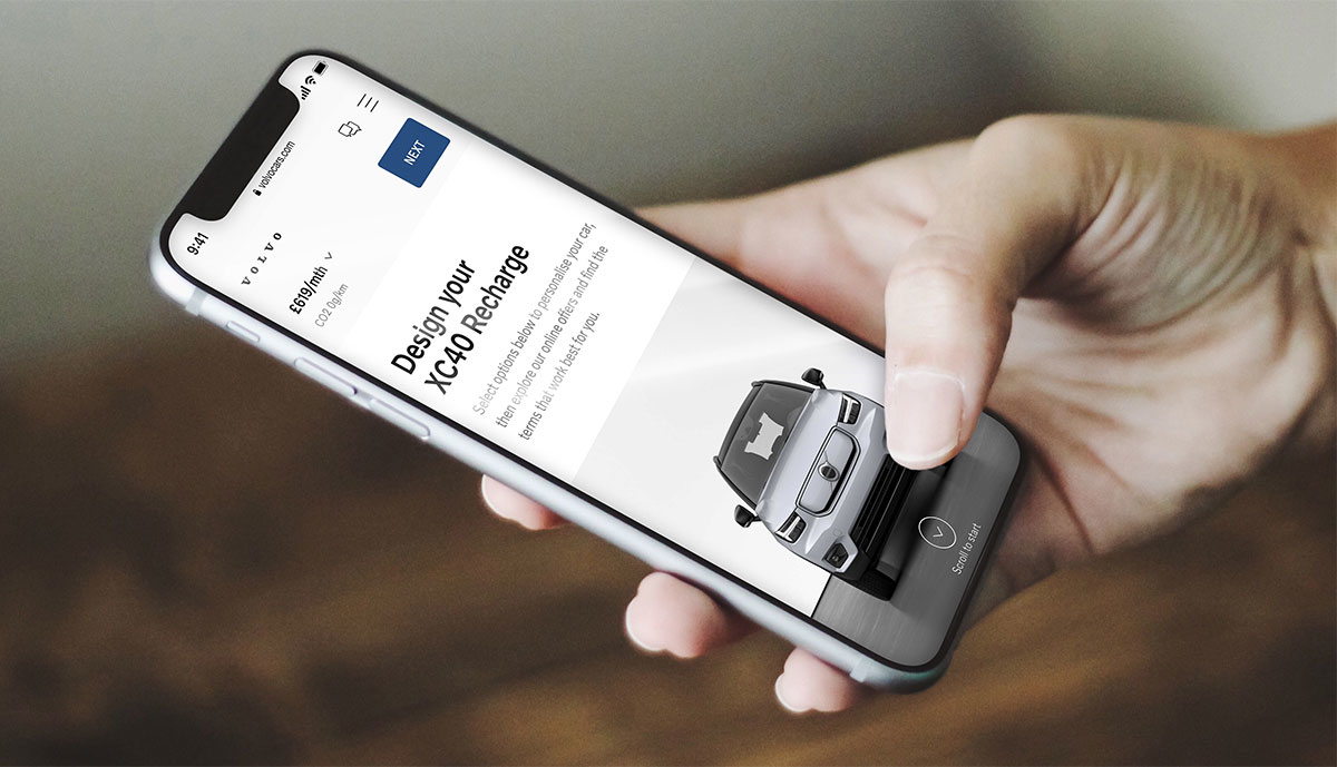 Volvo-Direktvertrieb