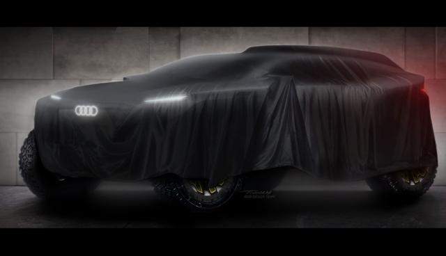 Audi-Elektroauto-Rallye-Dakar