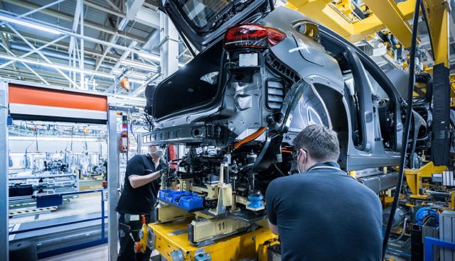 Mercedes-EQA-Produktion