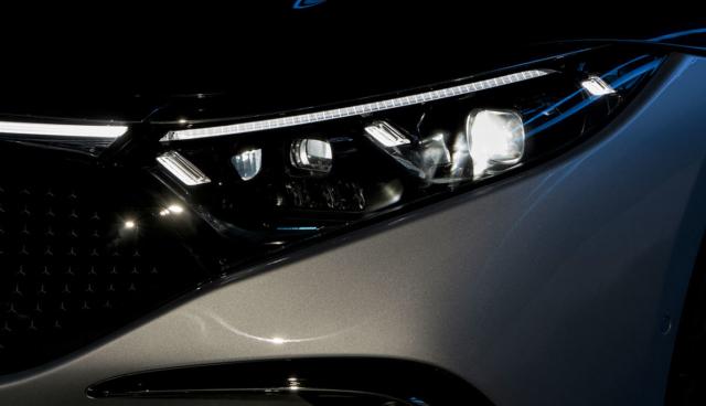 Mercedes-EQS-Frontscheinwerfer