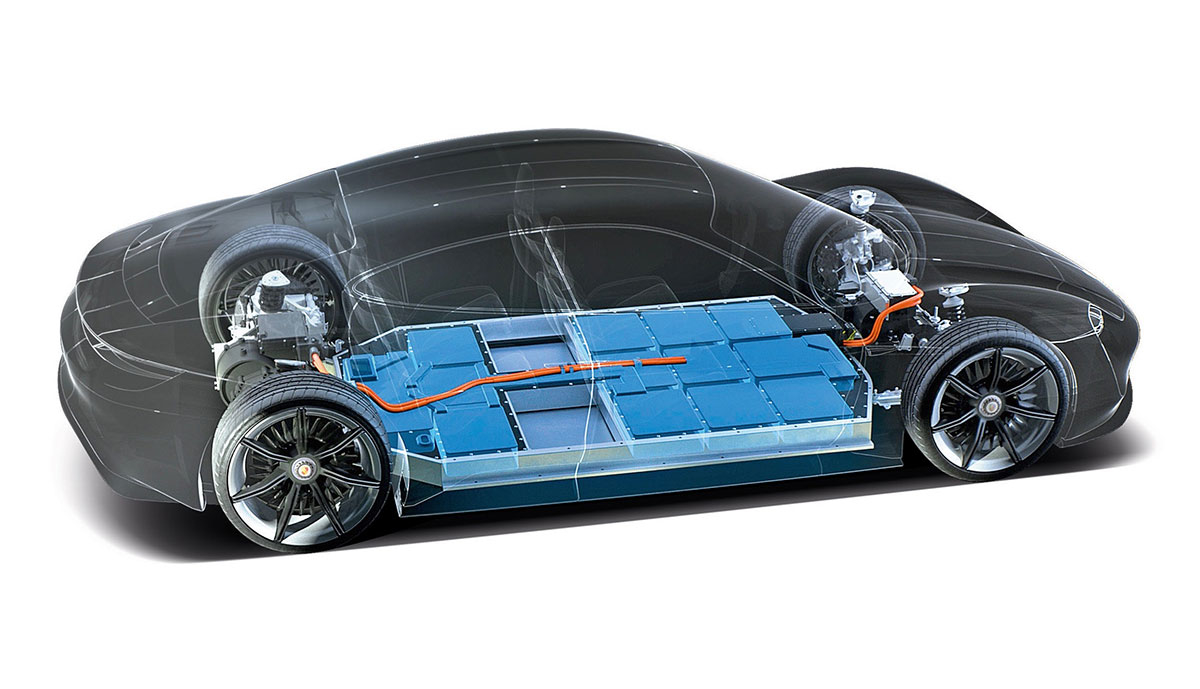 Porsche-Mission-E-Technik