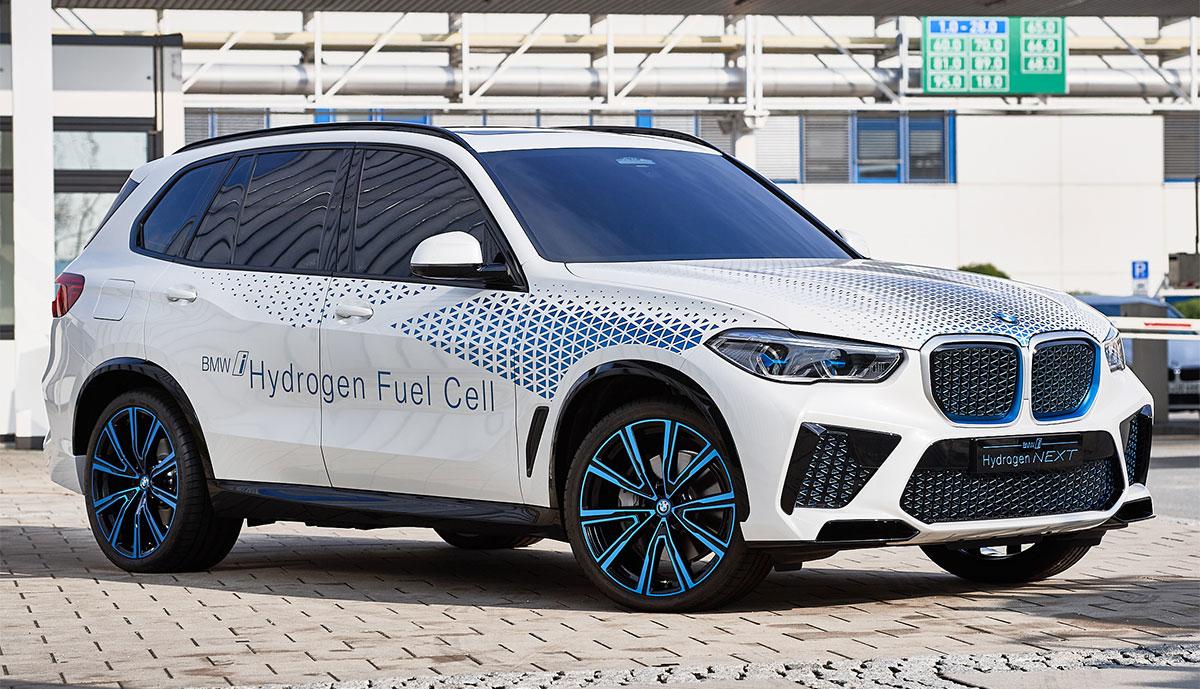 BMW-Wasserstoff-SUV