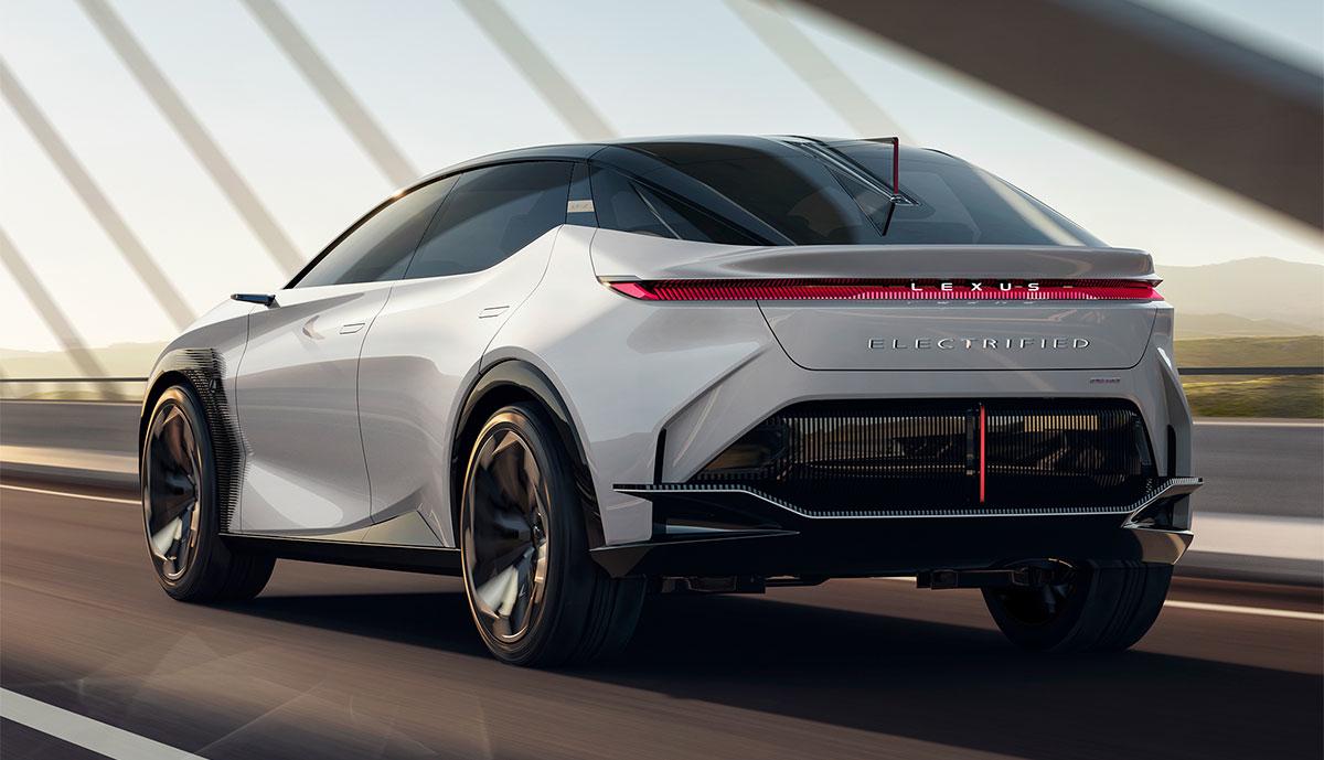 Lexus-LF-Z-Heckansicht