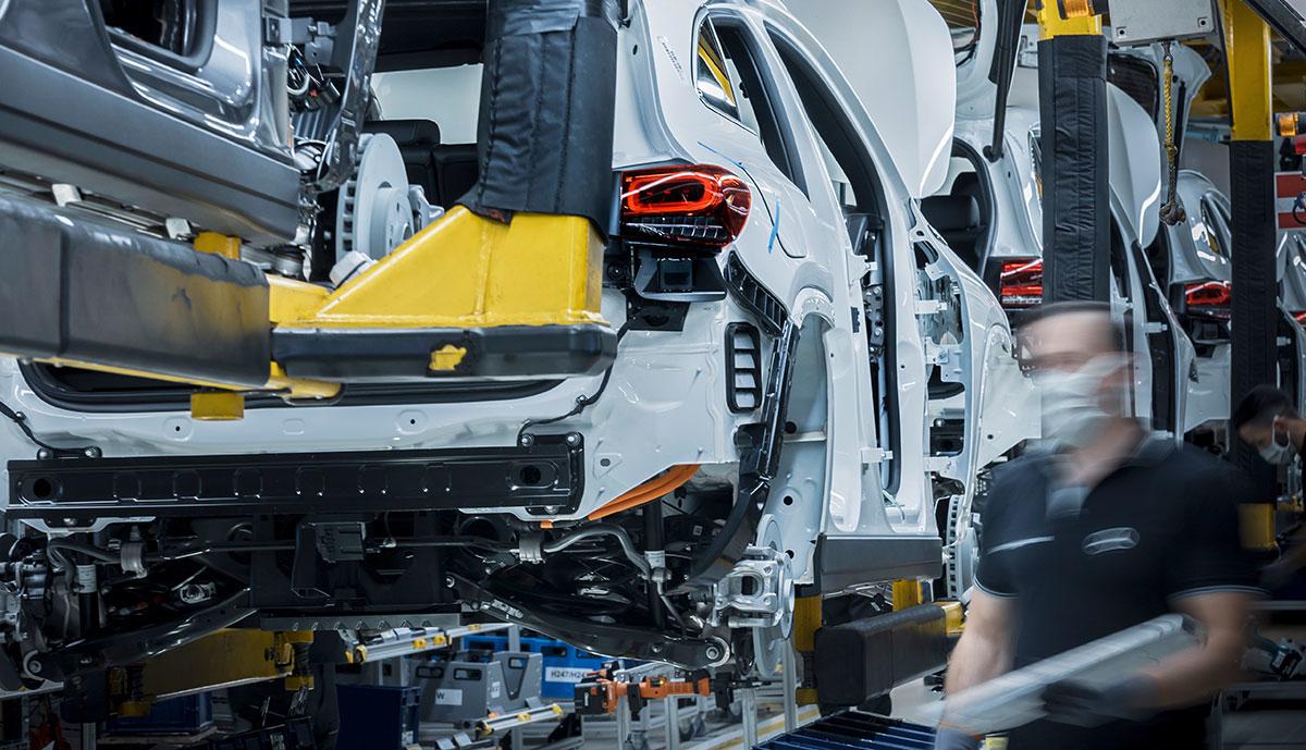 Mercedes-EQ-Produktion