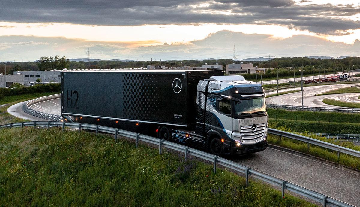 Mercedes-GenH2-Lkw-Prototyp