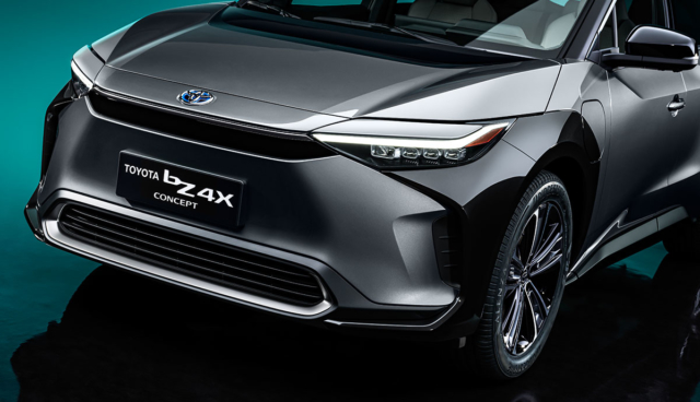 Toyota-Elektroauto-Konzept