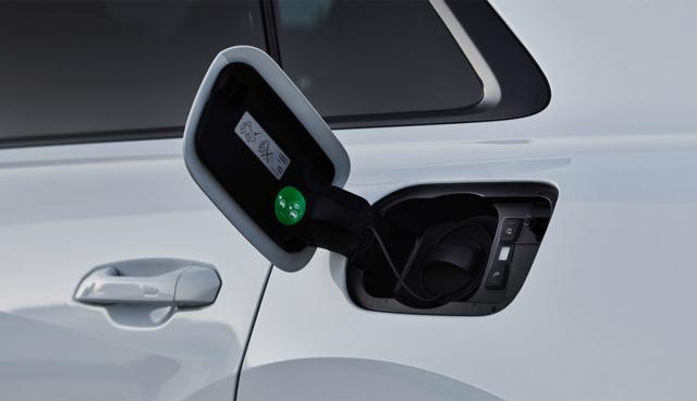 Audi-Ladeanschluss