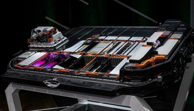 Audi-e-tron-Batterie-Schnittmodell