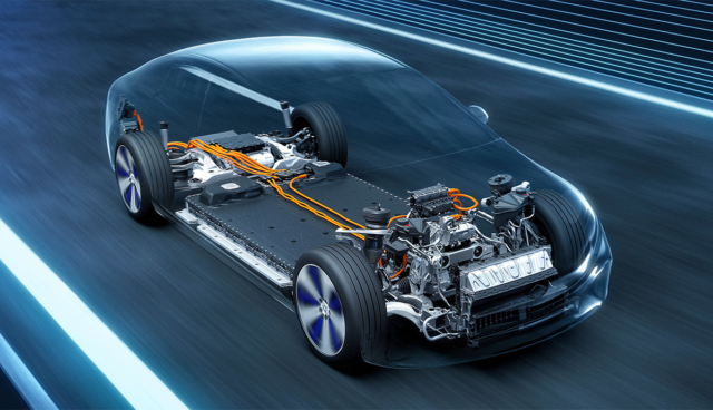 Mercedes-EQS-Technik