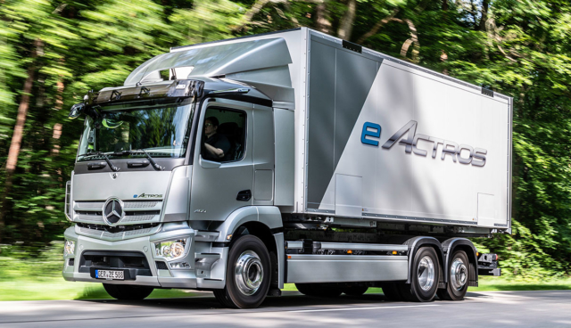 Mercedes-eActros
