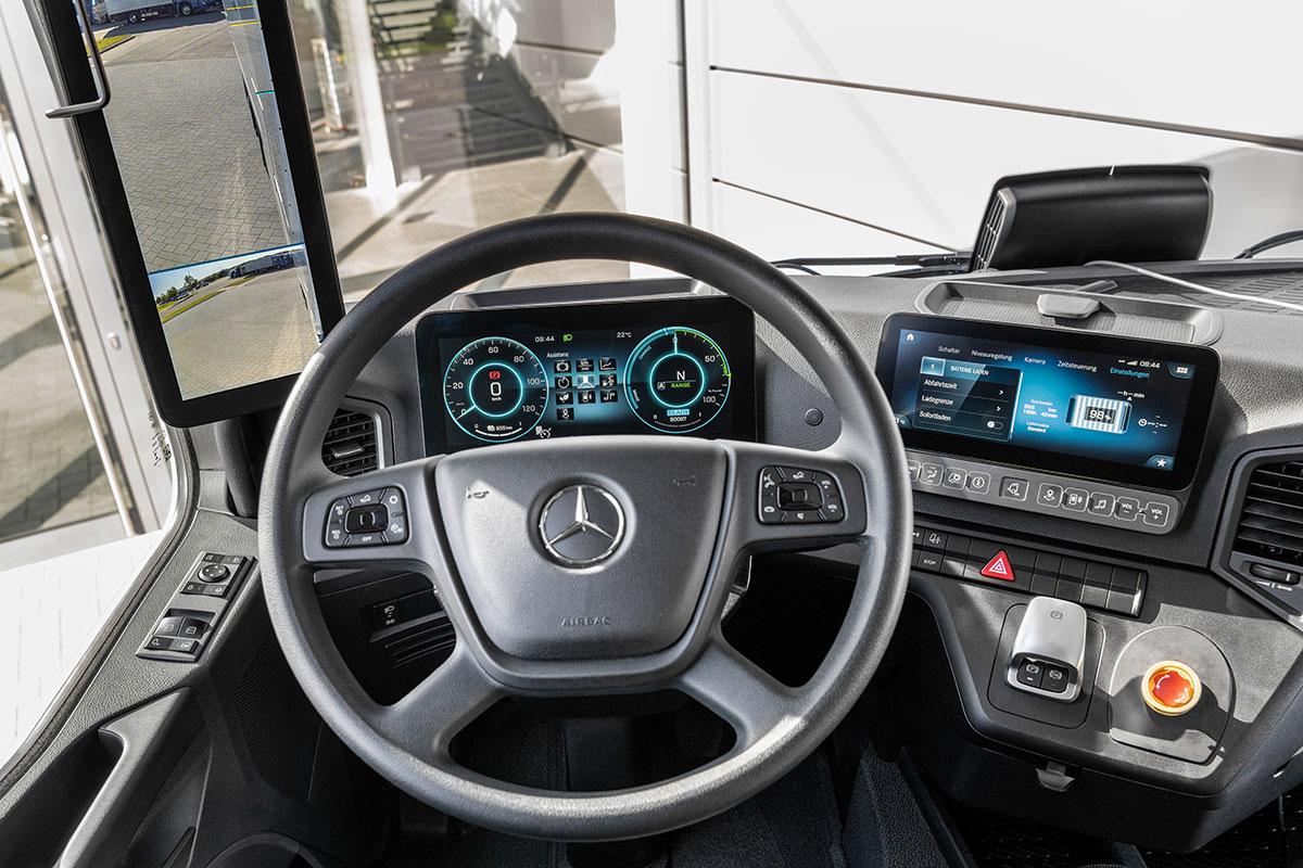 Mercedes-eActros-innen