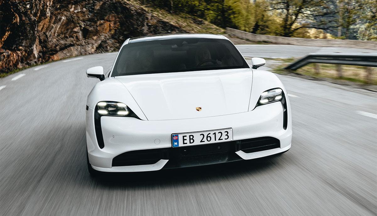 Porsche-Taycan-Norwegen