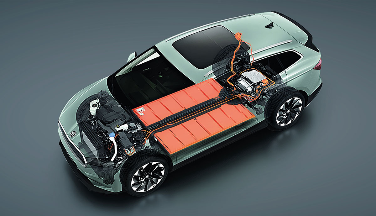 Skoda-Enyaq-iV-Batteriesystem
