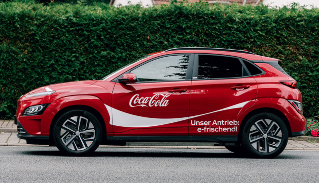 Hyundai-Kona-Elekroauto-Coca-Cola