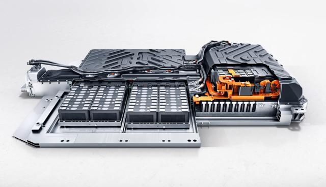 Mercedes-EQA-Batteriesystem