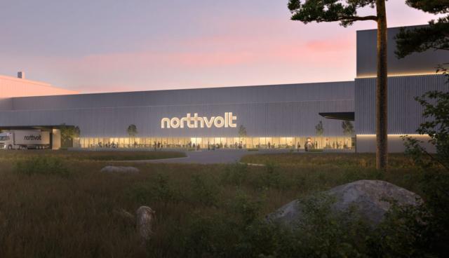 Northvolt-Fabrik