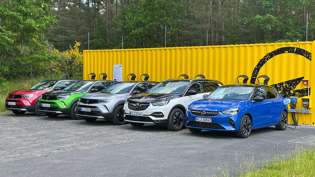 Opel-Ruesselsheim-Ladestationen