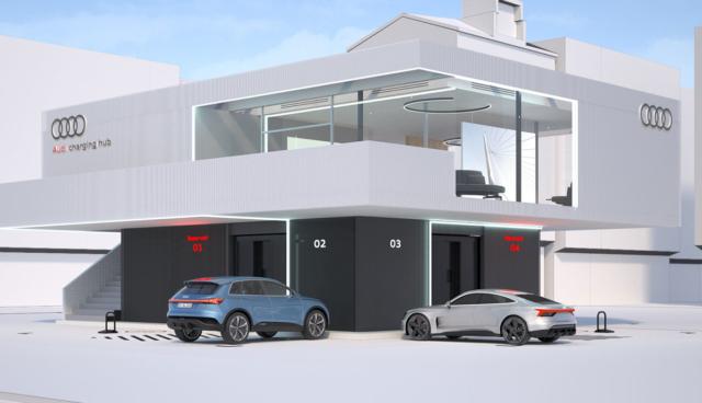 Audi-Charging-Hub
