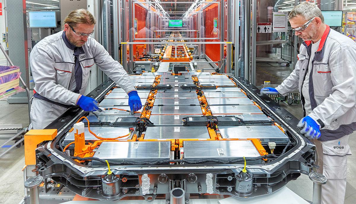 Audi-e-tron-Batterie-Produktion