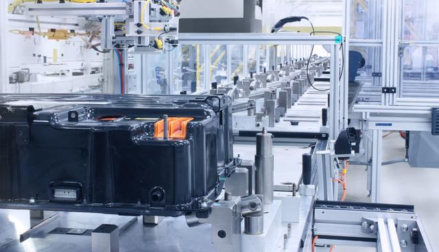 Bosch-Batterieproduktion-Technik