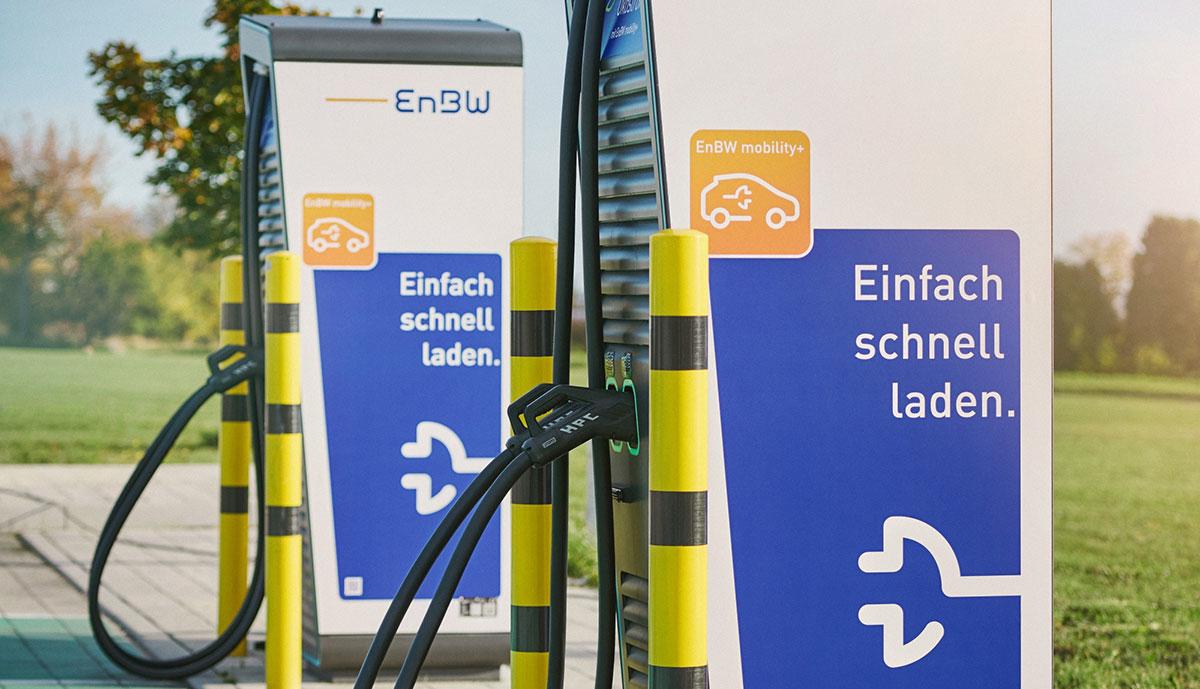 EnBW-Ladestation