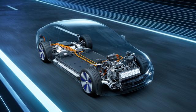 Mercedes-EQS-Plattform
