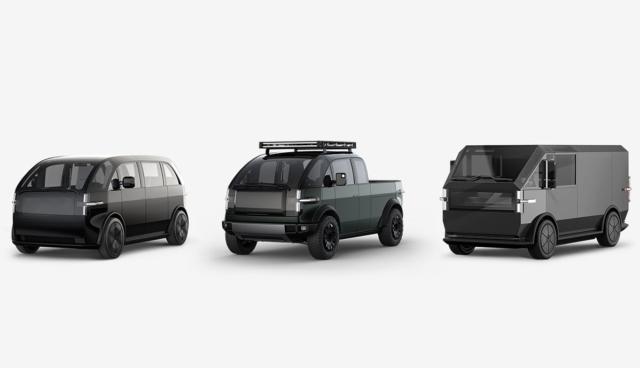 Canoo-Elektroautos