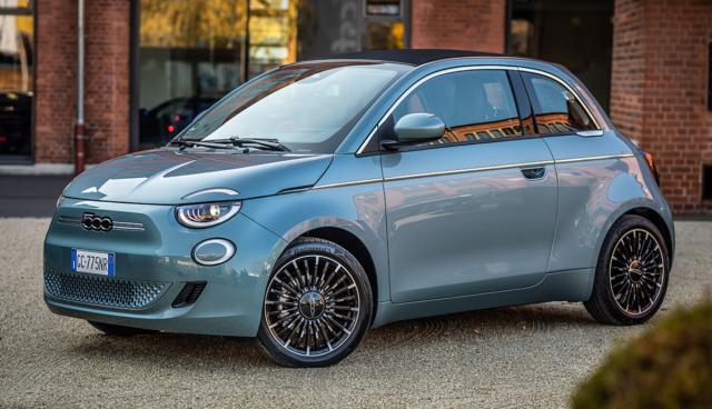 Fiat-500-Elektroauto