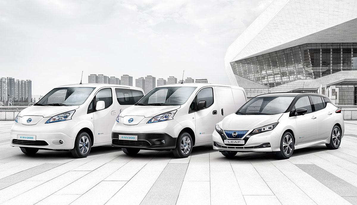 Nissan-Elektroautos