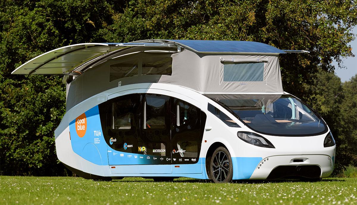 Solar Team Eindhoven stellt solarbetriebenes Wohnmobil vor