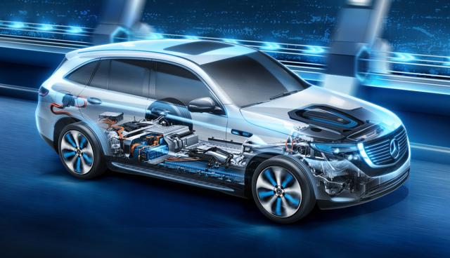 Mercedes-EQC-Batteriesystem