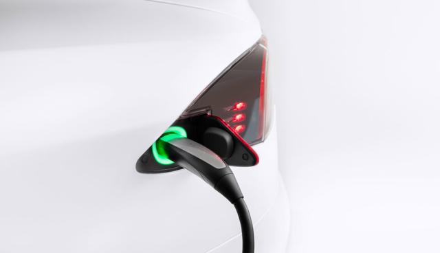 Tesla-Charge-Port
