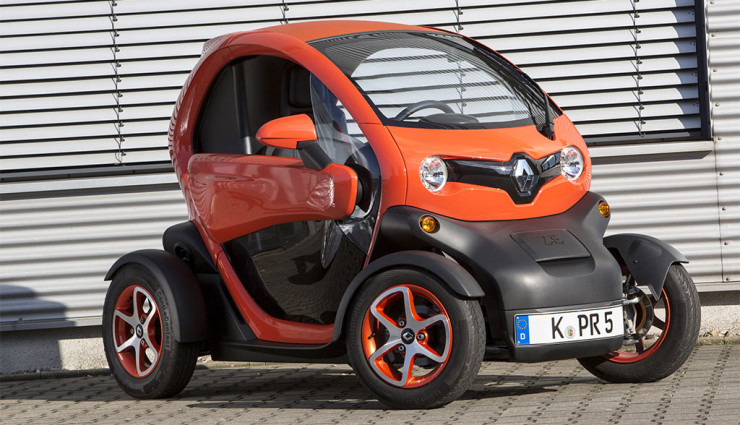 "Kleinst-Elektroauto Renault Twizy 2000 Euro günstiger dank ""Elektrobonus"""