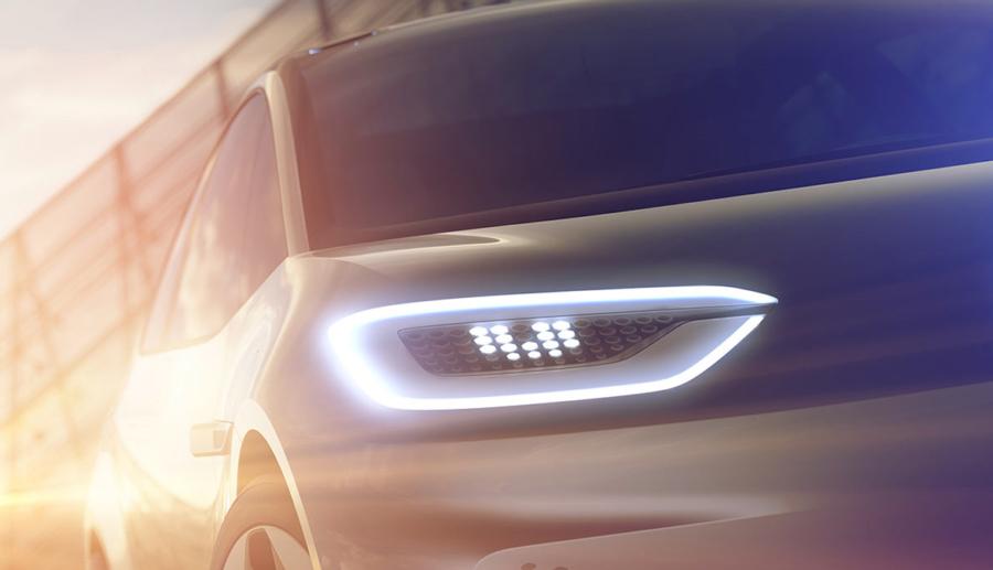 VW zeigt Elektroauto-Teaser für Paris