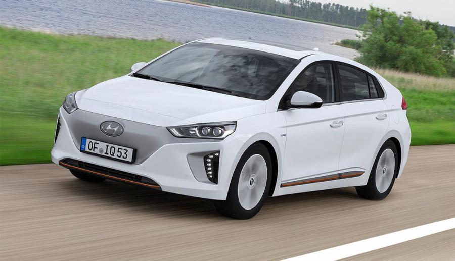 Hyundai: Mehr Reichweite für Elektroauto Ioniq ab 2018