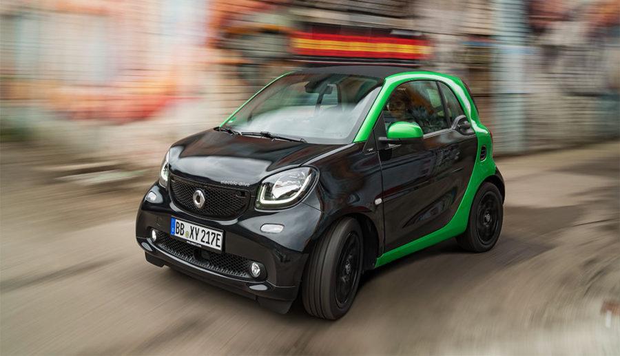 smart: Langfristig nur noch Elektroautos?