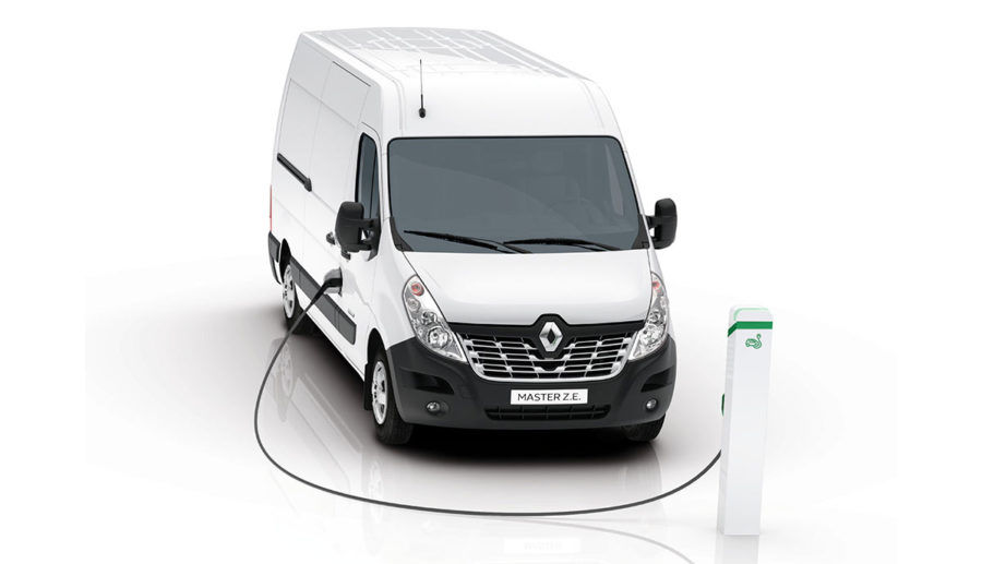 Renault Master Z.E.: Neuer Fullsize-Transporter mit Elektroantrieb