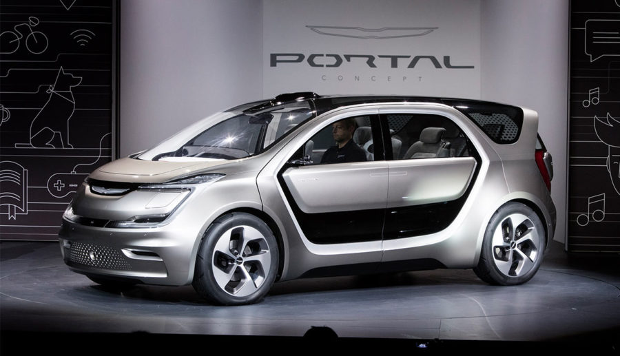 Elektroauto-Minivan Chrysler Portal wird gebaut