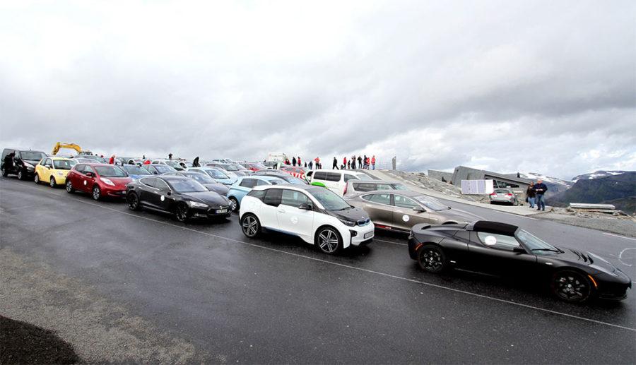 Elektro-Marktanteil bei Pkw-Neuzulassungen in Norwegen fast 40 Prozent