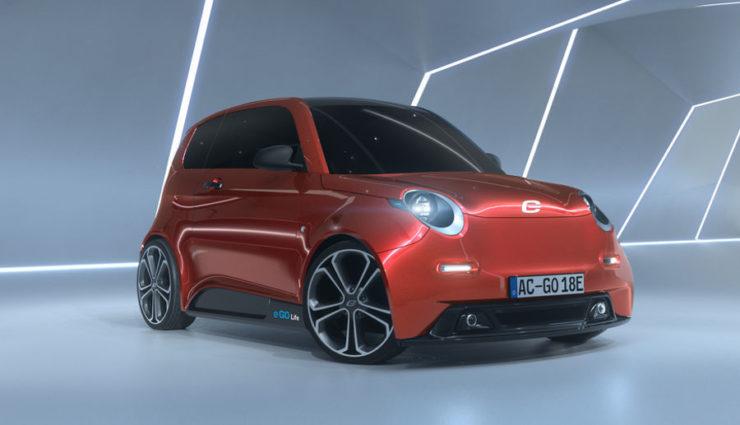 Deutscher Elektroauto-Flitzer e.GO Life kommt 2018
